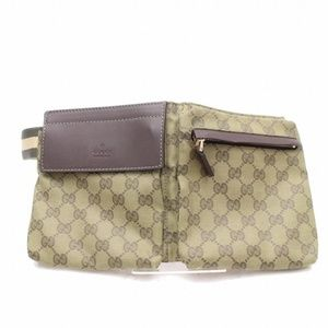 Gucci  Olive Fanny Pack Waist Pouch 868770